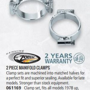 GZP Manifold clamp set 78-up 061169