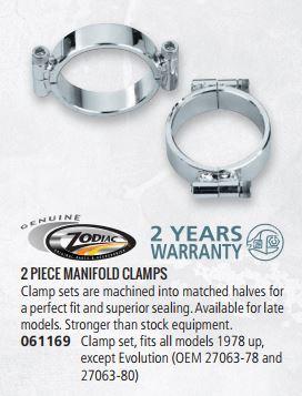 GZP Manifold clamp set 78-up 061169