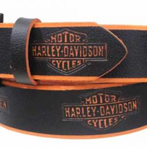 MEN'S HARLEY-DAVIDSON BELT ROAD BURN  16783