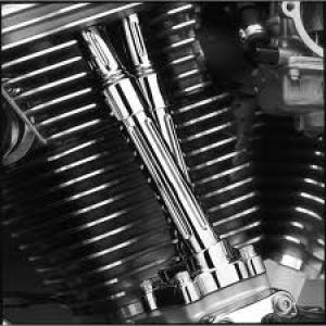 Chrome Pushrod Cover Kit 18096-00A