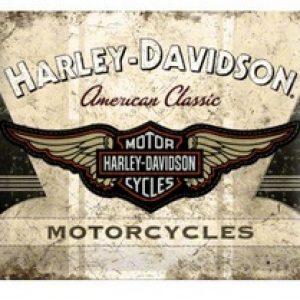 HARLEY-DAVIDSON, TIN SIGN AMERICAN CLASSIC LOGO 23144