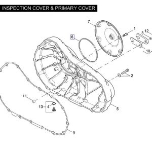 GASKET CLUTCH COVER 25463-94A