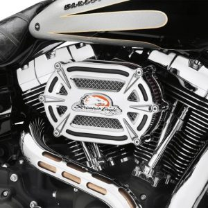 SE Extreme Billet Ventilator Air Cleaner Kit chrome 29400163