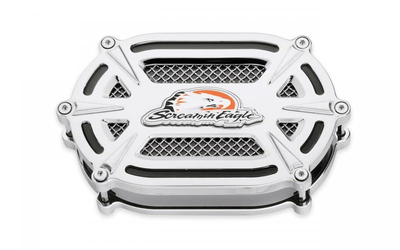 SE Extreme Billet Ventilator Air Cleaner Kit chrome 29400163