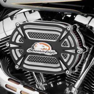 SE Extreme Billet Ventilator Air Cleaner Kit, black cut 29400168
