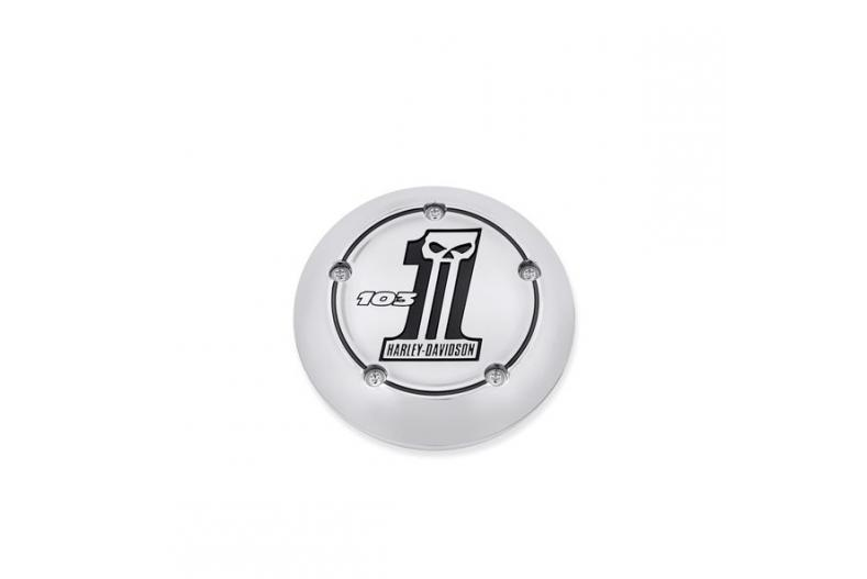 Air Cleaner Trim - 103 Logo. Number One Skull Collection 29820-11