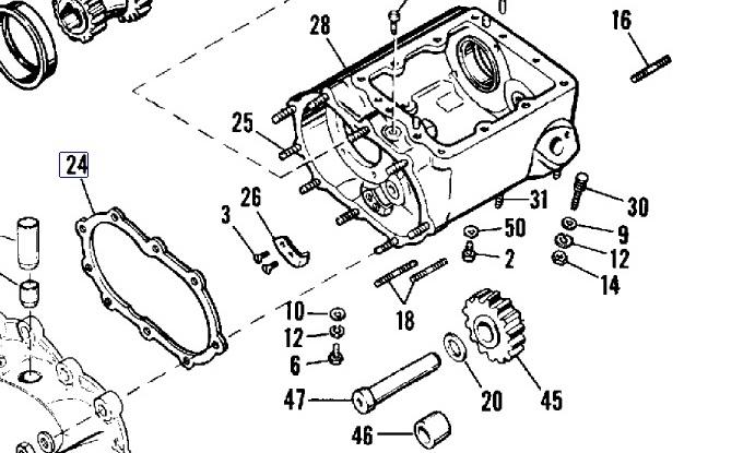 Gasket Transmission Cover 33295-36