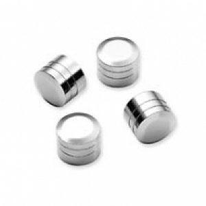 Chrome Rocker Box Bolt Covers 43868-99