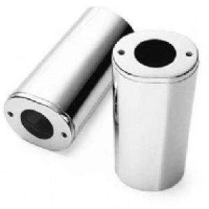 Chrome Upper Fork Slider Covers 45963-97