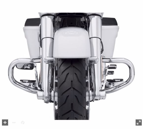 Chopped Engine Guard Touring 09-later 49000105