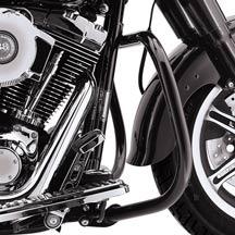 Gloss Black Engine Guard Kit 49023-02A