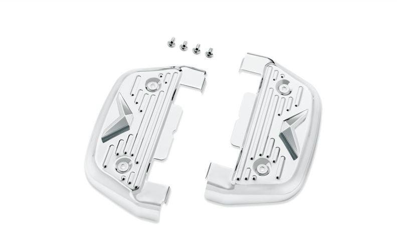 V-Logo Passenger Footboard Covers 50194-96