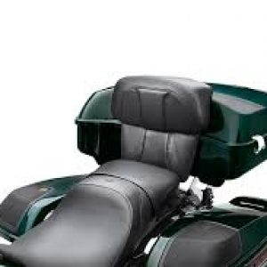 Chopped Tour-Pak Backrest Pads - CVO Street Glide Styling 52300359