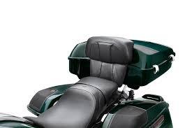 Chopped Tour-Pak Backrest Pads - CVO Street Glide Styling 52300359
