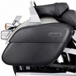 Rigid Leather Locking Saddlebags 53050-10