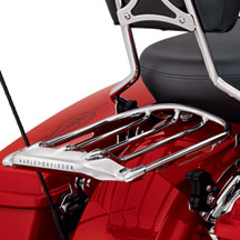 Air Wing Detachable Two-Up Luggage Rack - Chrome 54283-09A