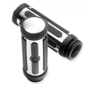 Chrome and Rubber Hand Grips Large 56263-96A