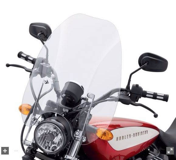 Quick-Release 25 in. Super Sport Windshield 57400192