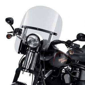 H-D DETACHABLES COMPACT WINDSHIELD FOR SOFTAIL SPRINGER MODELS 58161-09