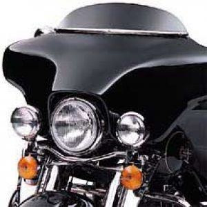 "Electra Glide® 4"" Black Wind Deflector 58204-98"