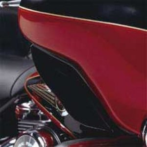 Black Fairing Air Deflector 96-13 TOURING 58568-98A