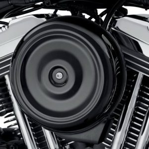 Round Air Cleaner Cover - Gloss Black 61300128