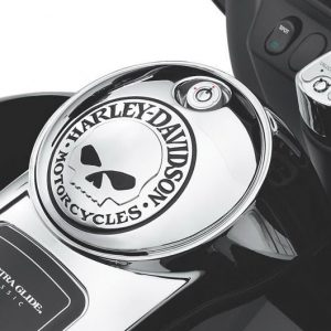 Willie G.® Skull Fuel Console Door 61308-09