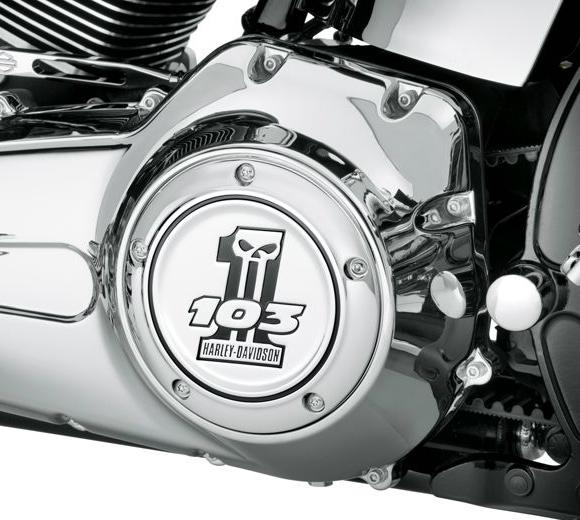 Harley-Davidson Number One Skull Derby Cover - 103 Logo 61400089