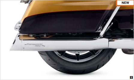 "SE STREET CANNON PERFORMANCE SLIP-ON MUFFLERS – 4.5""  64900555"