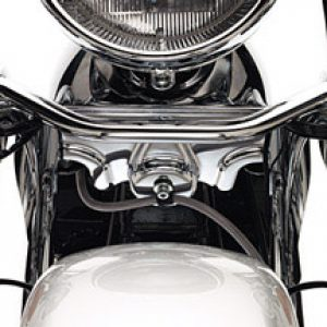 Chrome Lower Triple Tree Cover 66053-01