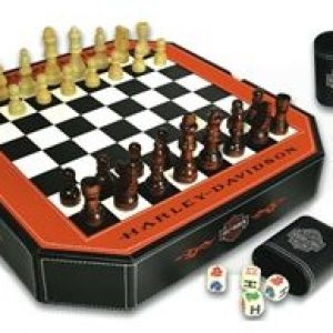 HARLEY-DAVIDSON 4 IN 1 GAME SET 66917