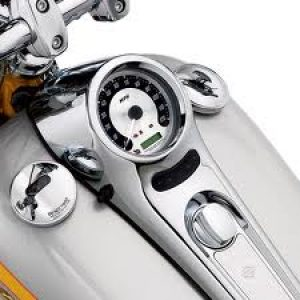 Spun Aluminum Face Speedometer 67315-05A