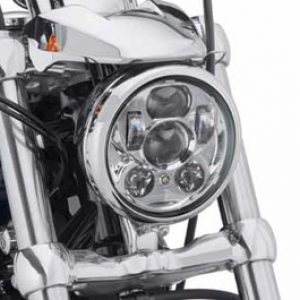 "Harley-Davidson® Daymaker™ LED Headlamp - 5 3/4"" Chrome - 67700144A"