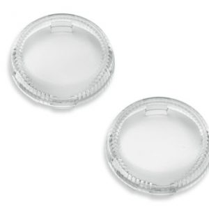 Lenses For LED Bullet Turn Signal Inserts (clear) - 67800644