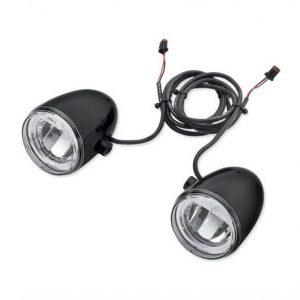 Daymaker Reflector LED Fog Lamps - Gloss Black Housing 68000092