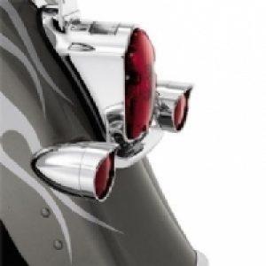 Bullet Style Turn Signal Visor Ring Kit  69757-05