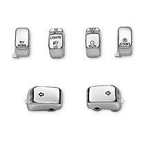 Chrome Switch Cap Kit 71804-03
