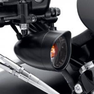 Black Turn Signal Visor Trim Ring 73344-09