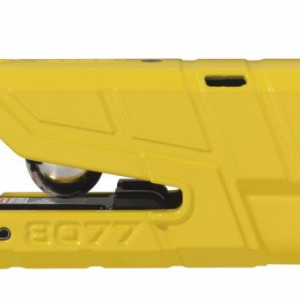Abus Granit Detecto 8077 Yellow Schijfremslot ART4 - met alarm 74503981