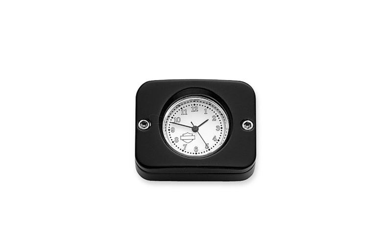 Billet Analog Clock black 75054-03