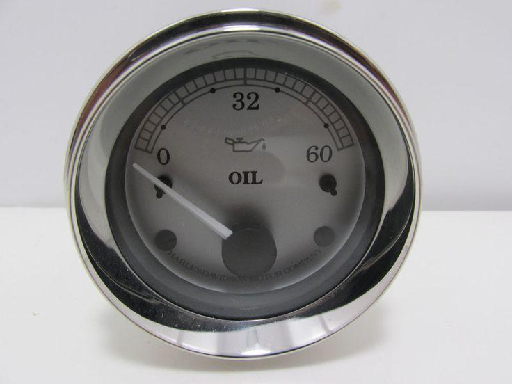 OIL PRESSURE GAUGE SILVER 75165-01A