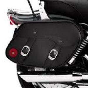 Leather Saddlebags  79300-06D
