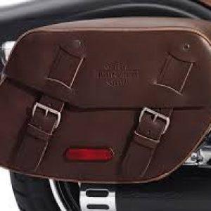 Brown Leather Saddlebags - 88348-10