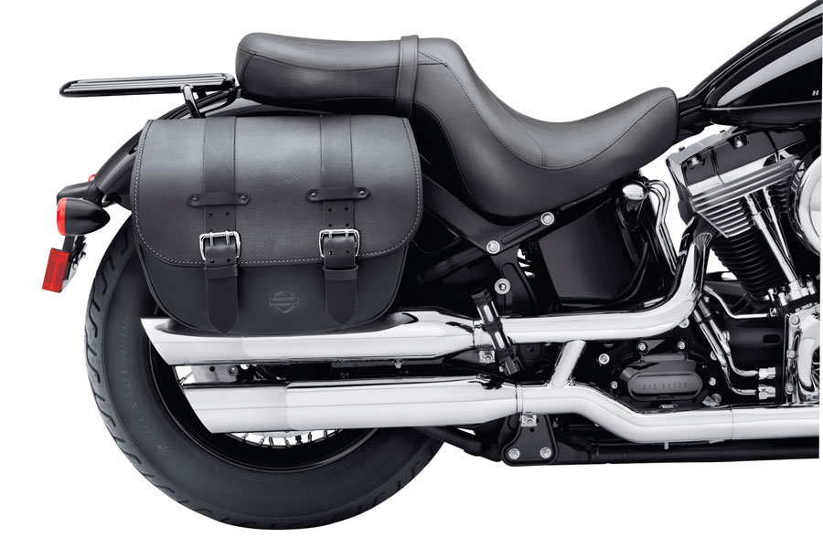 FXS DET. LEATHER SADDLEBAGS 90200353