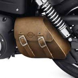 Single-Sided Swingarm Bag - Brown 90200571