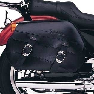 Sportster® Leather Saddlebags 90342-04A