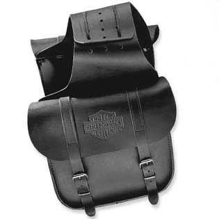Leather Throw-Over Saddlebags 91008-82C
