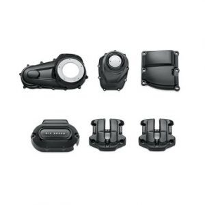 Gloss Black Engine Cover Kit – Milwaukee-Eight Powertrain 92500059