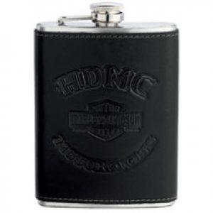 MEN'S ROLL YOUR OWN SKULL LOGO BLACK FLASK  96892-17V