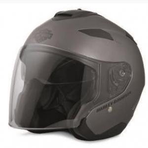 Grey Maywood Interchangeble Sun Shield H27 3/4 Helmet 98346-17ex
